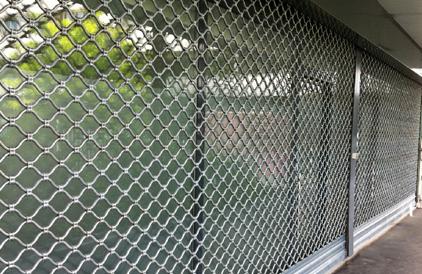 rideau métallique de sécurité