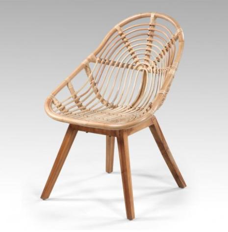 Des chaises rotin pour agrémenter votre jardin