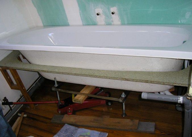 comment installer une baignoire Meilleur de Photos soulever une baignoire les bricolos