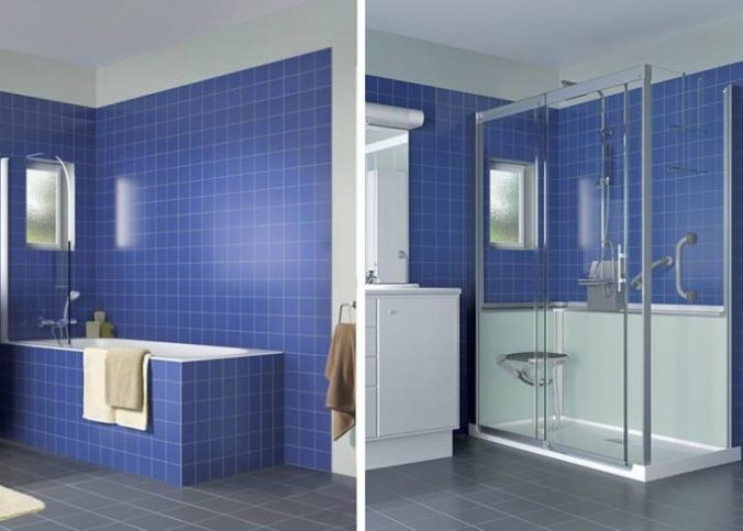 Remplacer votre baignoire par une douche