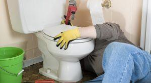 Réparation WC fuite