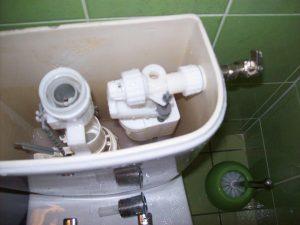 changement chasse d'eau encastrée